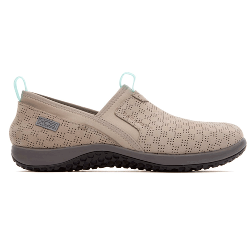 WALK360 Perf Slip On Women's Casual Shoes in Grey